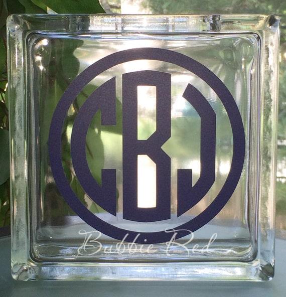 Personalized baby glass block piggy bank custom piggy bank for Custom acrylic blocks