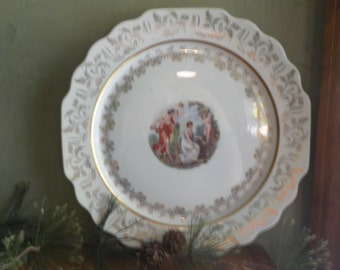 Vintage Atlas China, New York, Maiden Scene, Roman Time, Plate