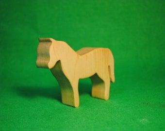Wood Horse - Horse Statue - Waldorf Animals - Wood  Figurine Horse - Horse Toy - Wooden Horse -  Wood Horse Figure