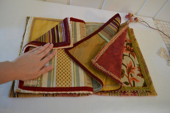 Fabric Book Covers Make Your Own : Scrapbook fabric kit large silk by theladydetalle