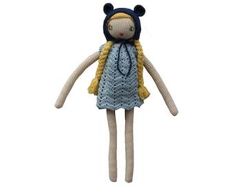 "Crochet doll pattern ""Lili"""