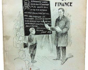 Coin at School in Finance 1895 Scarce Americana  Paperback W. B. Conkey