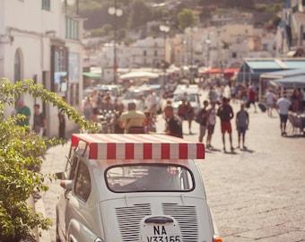 Capri Italy 500 vintage holidays fine art print 13x18