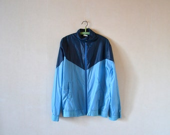 Vintage windbreaker 80s / jacket size L