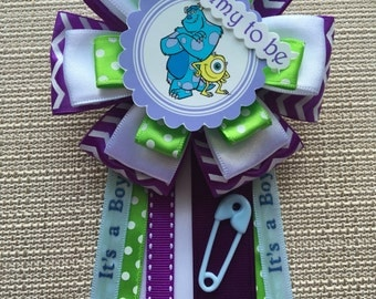 Monsters Inc Inspired Baby Shower Pin