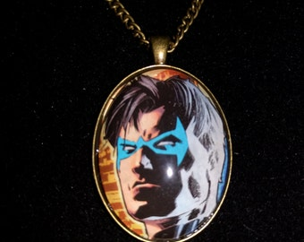 DC Justice League Nightwing Large Pendant