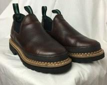 Vintage Georgia Boots Size 6 1/2 // Romeo Boots Women's 6 1/2 // Georgia Giant