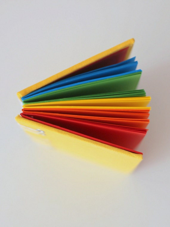 notebook with colored pages rainbow journal notebook colored notebook sketchbook multi