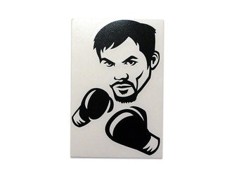 MANNY PACQUIAO - Die cut vinyl sticker