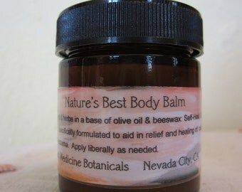 Nature's Best Body Balm