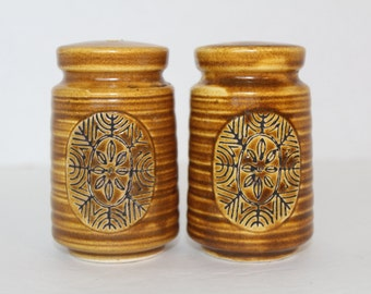 Vintage Salt and Pepper Shakers, Kitchen Collectible, Snowflake