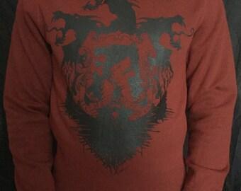 game of thrones hoodie, Valar Morghulis hoodie, All Men Must Die lannister stark baratheon