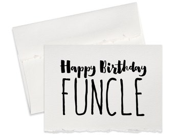 Funny wedding note etsy funny birthday card for uncle happy birthday uncle greeting card for birthdays funny card from nephew m4hsunfo