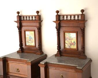 Original Italian nightstands 800. 800 Italian original nightstands.