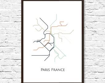 Emejing Poster Metro Paris Photos - Joshkrajcik.us - joshkrajcik.us