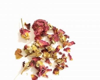 Organic Rose Petals for Bunnies