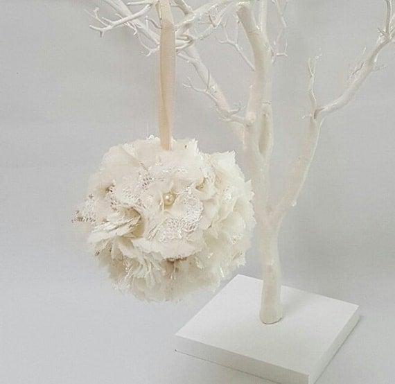 Used Shabby Chic Wedding Decorations : Shabby chic wedding reception decor pew decorations lace