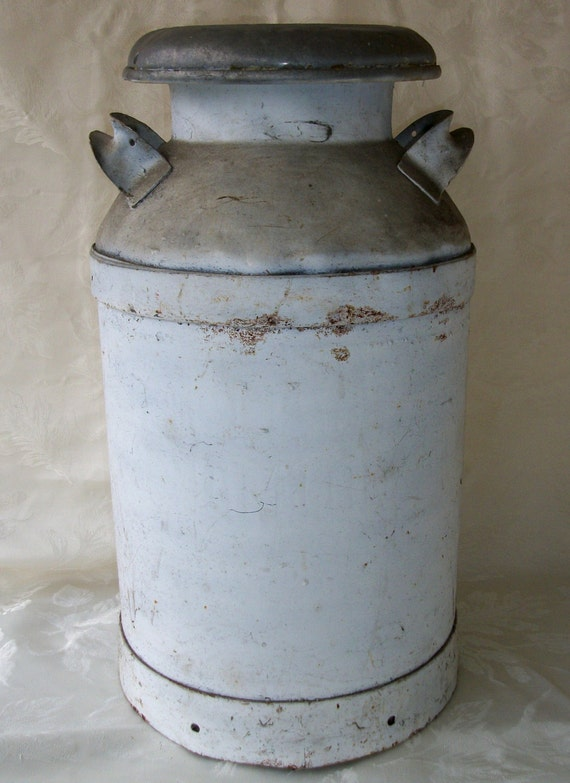 Antique Vintage Farm Milk Can 10 Gallon