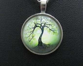 Tree of Life Charm Pendant.