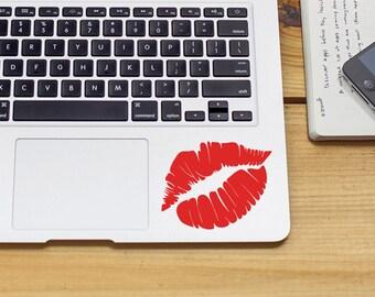 SUMMER SALE! Kiss decal lips decal lipstick sticker kiss sticker Vinyl Decal Sticker