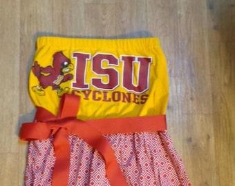 Iowa State University Game Day Dress, Tail Gate Dress