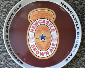 Vintage Newcastle Brown Ale Drinks Tray