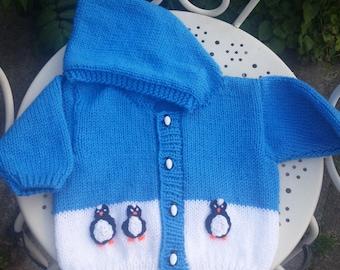 Penguin cardi / jacket