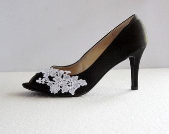 Black satin heels  Etsy