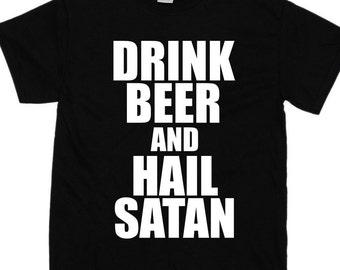 foto de Hail satan shirt Etsy