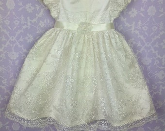 Silk Christening Gown Fay by Okika