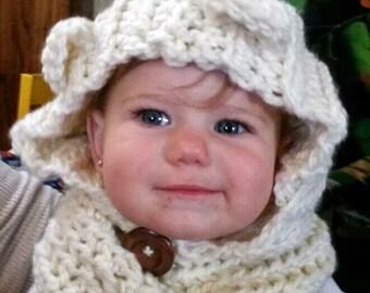 Baby & Children's Crochet Bear Beanie