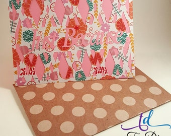 Just Because//Just Because Greeting Card//Greeting Cards//Cards//Greeting Card and Envelope//Card//Card and Envelope