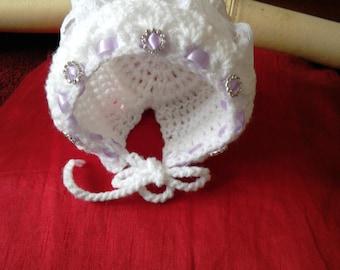 Baby girl bonnet