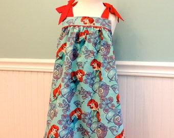 Under the Sea Dress - Girls Dress - Little Mermaid Dress - Mermaid Dress - Mermaid - Girls Princess Dress - Toddler Dress -Summer Trip Dress