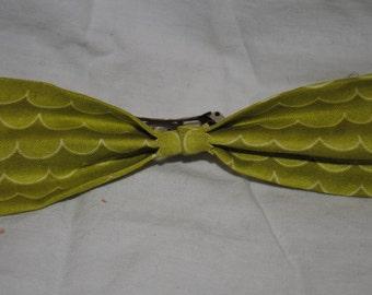 Wave Handmade Hair Bow - French Barrette