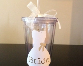 Personalized Bride Tumbler