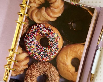 Donuts & Fruit Loops A5 Size Planner Dashboard