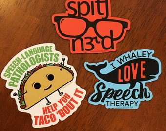 Awesome Magnet 3-Pack by Peachie Speechie