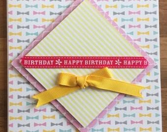 Homemade Happy Birthday Card