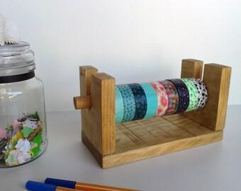 Washitapes Organizer   Washi dispenser   For 9 rolls   Storage horizontal