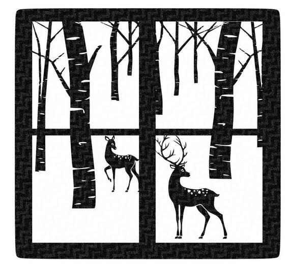 Auto photography etsy - Christmas Winter Scene Svg Glass Block By Jencraftdesigns