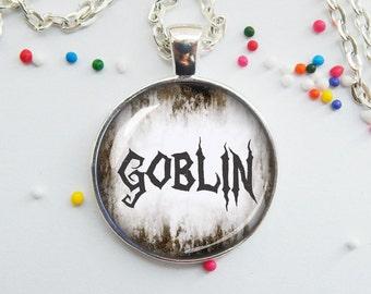 Goblin necklace -  halloween jewelry