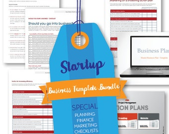 Business START-UP BUNDLE - everything you need - immediate download