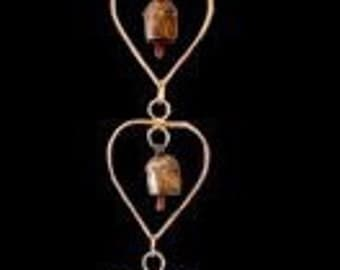 Copper Bell Wind Chimes