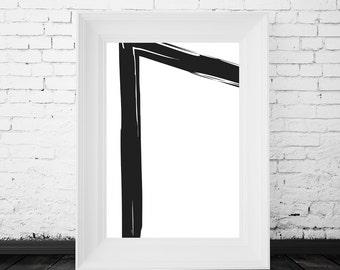 black and white print design, black and white prints, black and white wall art, modern design print, black and white art, black white art