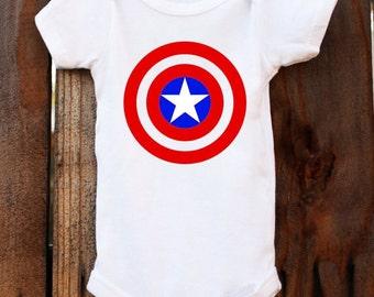 Avengers Captain America bodysuit/Tee