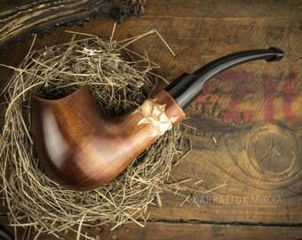 Smoking Pipe'. Wood carved smoking pipe. Tobacco Pipes. Wooden Pipe. Tobacco Bowl. Wooden Pipes.
