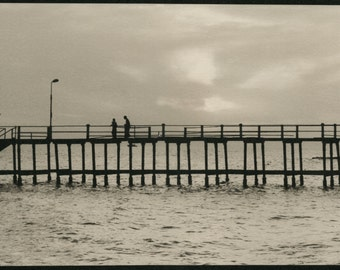 At the sea (1996). Palladium print