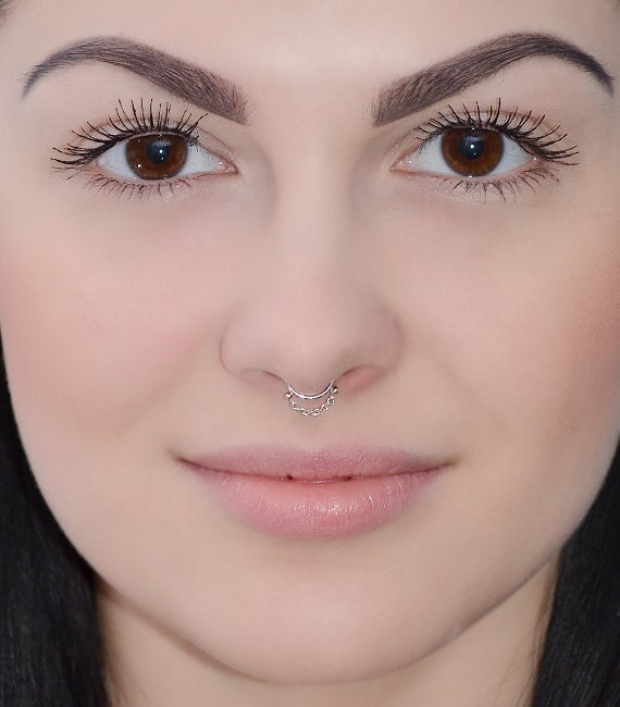 Argentium Sterling $ 16 gauge septum Jewelry   14kt cartilage hoop   twist conch earring   piercing ring   belly ring   triages $ Cartilage Ring - Gold Nose Ring 20g - Nose Hoop - Septum Hoop - Cartilage Hoop - Helix - Conch - Sterling Silver - Niobium NoE $ 6mm gold cartilage ring. 20g gauge 14 kt GOLD twist wire. hoop. earring. piercing. nose. brow. endless. catchless.