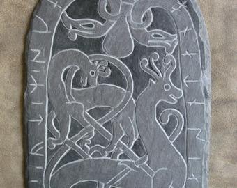 Runestone from Resmo (Oland. Sweden) / Runestone of Resmo (Oland. Sweden)